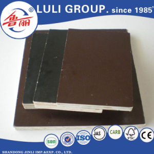 Brown Melamine Glue Film Faced Plywood pictures & photos