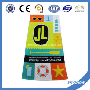Jl Printed Beach Towel (SST1056) pictures & photos