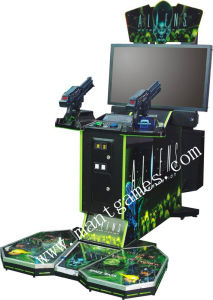Aliens Coin Operated Shooting Game Machine pictures & photos