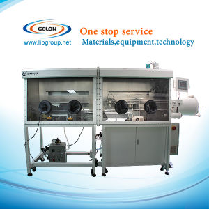 Dual Stainless Steel Vacuum Glove Box with Gas Purification System and Digital Control - Gn-Vgb-10-II pictures & photos