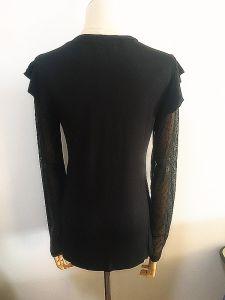 Fashion Clothing Round Neck Ruffle Sleeve Women Garments pictures & photos