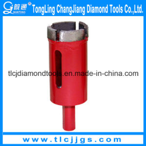 Brazed Diamond Core Bit for Stone Drilling pictures & photos