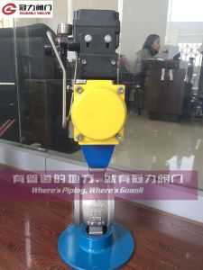 Wafer Type Ball Valve for Water Treatment Industy pictures & photos