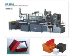 Full Automatic Ornamental Box Making Machine (zk-660A) pictures & photos