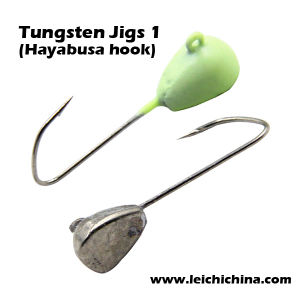Tungsten Jigs 1 (Hayabusa hook) pictures & photos
