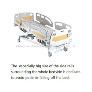 HK-N002 Deluxe Electric ICU Bed (medical bed, hospital bed) pictures & photos