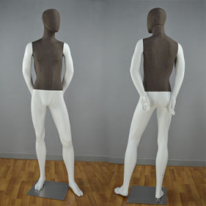 Fabric Wrapped Male Mannequi for Window Display pictures & photos