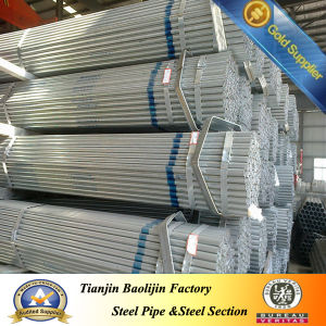 BS 1387 Hot DIP Corrugated Galvanized Steel Pipe Price pictures & photos