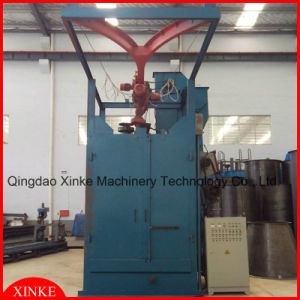 Hanger Shot Blast Cleaning Machine with Hoist Hook pictures & photos