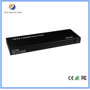 1X16 HDMI Splitter 16 Port, Support Cec, Hdcp, 3D 1080P pictures & photos