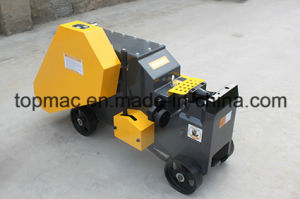 China Semi Automatic Electric Steel Bar/Rod Cutter Machine pictures & photos