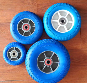 Factory Hot Sale 7 Inch Solid Rubber Wheel pictures & photos