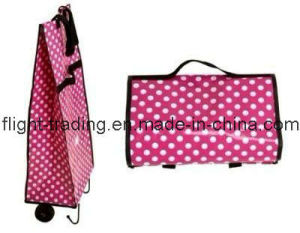 Folding Shopping Bag with Wheels / Luggage Cart pictures & photos