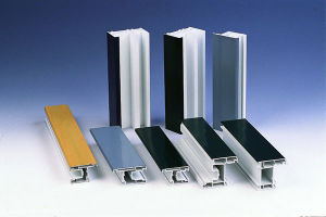 Film Laminated UPVC Profiles for Windows and Doors pictures & photos