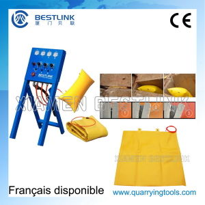 Reparable&Reusable Block Wall Stone Air Pushing Down Bag pictures & photos