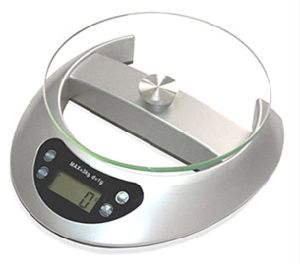 Glass Electronic Kitchen Scale with 5kg (PK815) pictures & photos