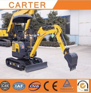 CT16-9bp with Zero Tail&Retractable Chassis& Rubber Tracks Mini Digger pictures & photos