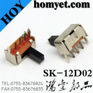 DIP Type Micro Switch/ Slide Switch (SK-12D02) pictures & photos