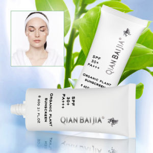 Waterproof and Whitening QBEKA Organic Plant Face Sunscreen Sunscreen Cream Cosmetic pictures & photos