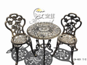 Cast Aluminium Furniture, Outdoor Furniture Ca-601tc pictures & photos