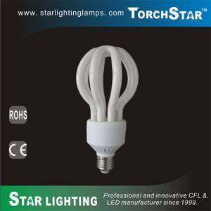 3u Shaped T4 35W Lotus Energy Saving Lamp CFL pictures & photos