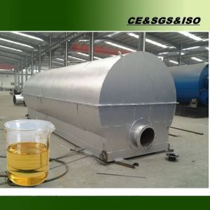 Q245r Boiler Plate Waste Engine Oil Recycling Line