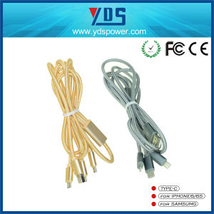 Newest Spring Metal Mobile Phone USB Charger Data Cable for iPhone pictures & photos