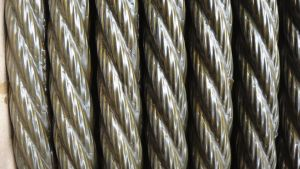Heavy Grease Ungalvanized Steel Wire Rope 6X19s+FC pictures & photos