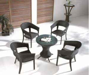 Patio Rattan Dining Furniture Set
