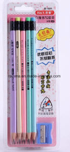 2017 Popular Hb Wooden Pencil with Bright Pearly Color pictures & photos