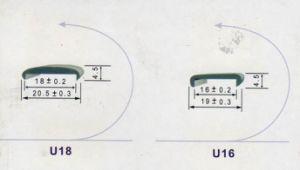 PVC U Edge, PVC Edge, PVC U Profile (U16/U18)