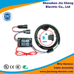 Ce RoHS Approval OEM Auto Electrical Wiring Harness Coaxial Cable Manufacturer pictures & photos