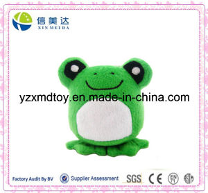Green Singing Frog Plush Toy pictures & photos