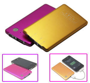 Promotional Gift Portable Mobile Power Bank (Power Visa)