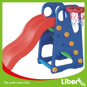 Children Plastic Outdoor Playground Swing and Slide (LE. HT. 008) pictures & photos