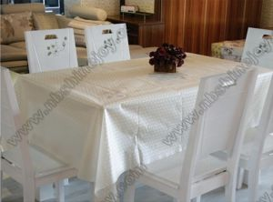 Fancy High Quality Jacquard Table Cloth pictures & photos