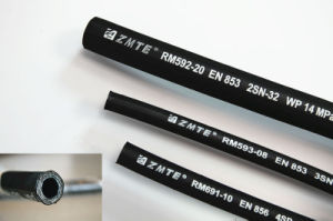 Zmte En 853 2sn High Pressure Hydraulic Flexible Rubber Hose pictures & photos