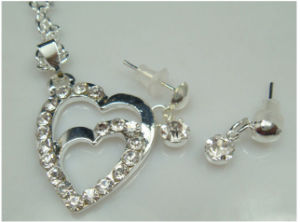 925 Silver Plated Jewelry Earring Efl2014039