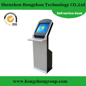 Single Touch Screen Payment Kiosk with Keyboard pictures & photos