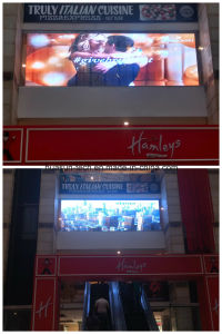 LED Transparent Display Glass Video Screen for Automotive Store pictures & photos