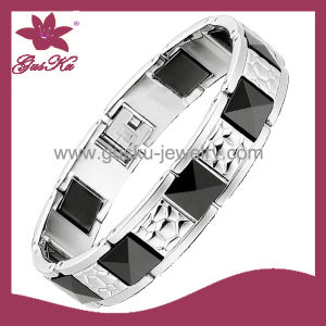 New Design Energy Fashion Stainless Steel Bracelet (2015 Gus-Cmb-026)
