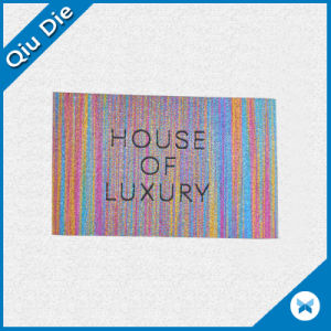 Large Size Woven Fabric Label for Mousepad pictures & photos