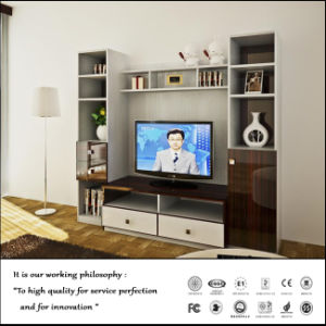 Acrylic High Glossy UV Faced TV Cabint (ZH-2040) pictures & photos
