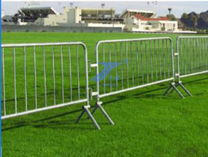 Hot-DIP Galvanized Crowd Barrier Fence (TS-E54) pictures & photos