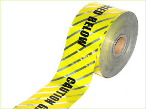 Underground Detectable Warning Tape for Pipe Cable Warning (NBL-DWT002) pictures & photos