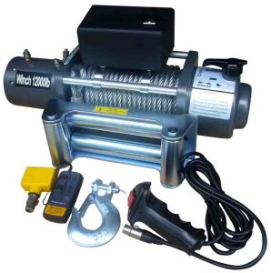 Electric Winch Electric Self Recovery Winch with CE Sc12000t pictures & photos