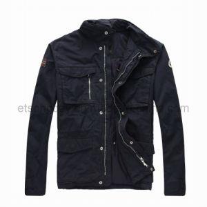 Black Outwear Cotton Nylon Men′s Padding Jacket (NAPA004524) pictures & photos