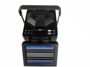 The Handheld Core-Aligning Optical Fiber Fusion Splicer (TCW-605) pictures & photos