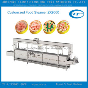 Stainless Steel Cooked Food Steaming Machine