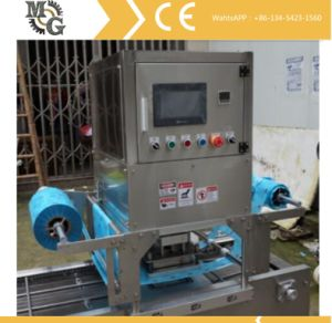2 Lane Gas Driven Tray Sealing Machine pictures & photos